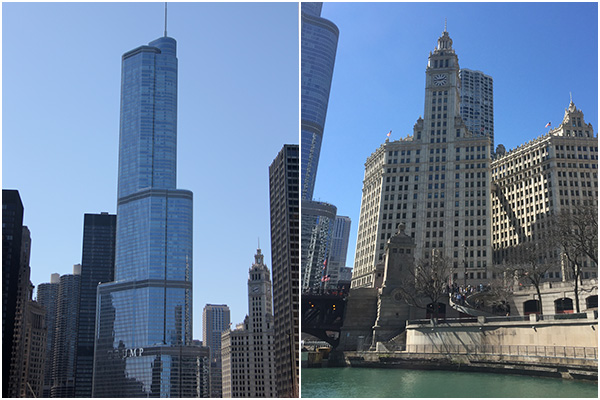 Trump Tower and the Wrigley Building | Chicago Architecture Tour