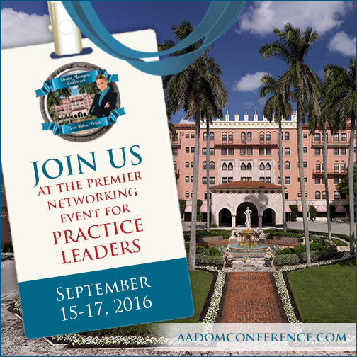 Gain resources for dental office management at AADOM's conference