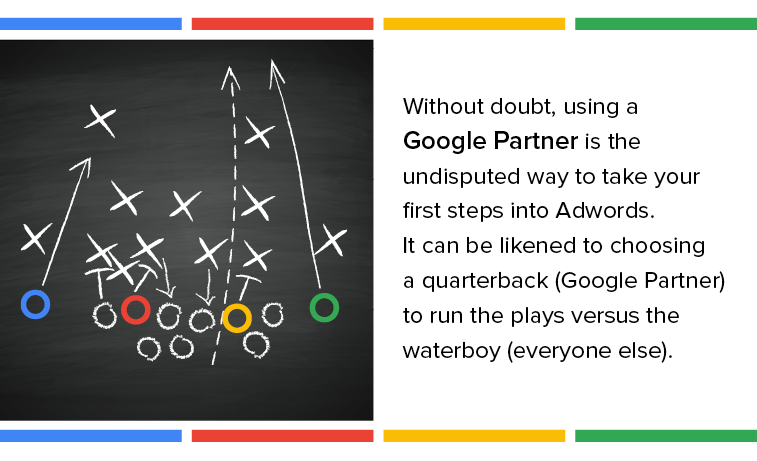 A Google Partner needs to run plays like a Quarterback to get your business the best results