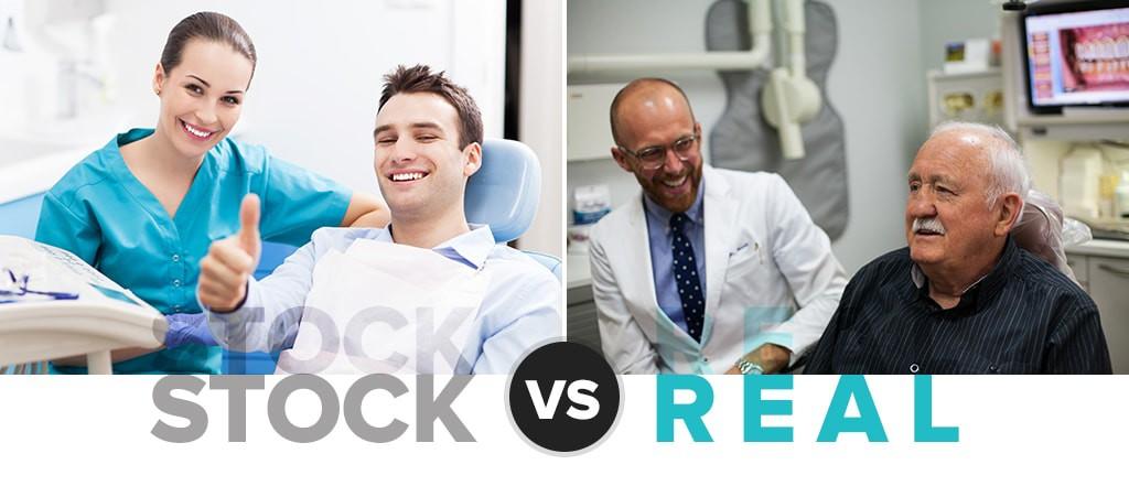 Real Photos vs. Stock