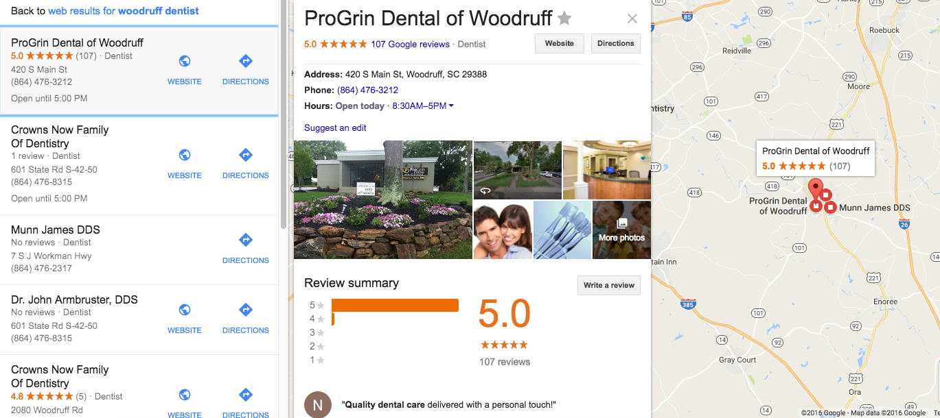 Roadside Dental Marketing talks about the new Google Local 3-Pack
