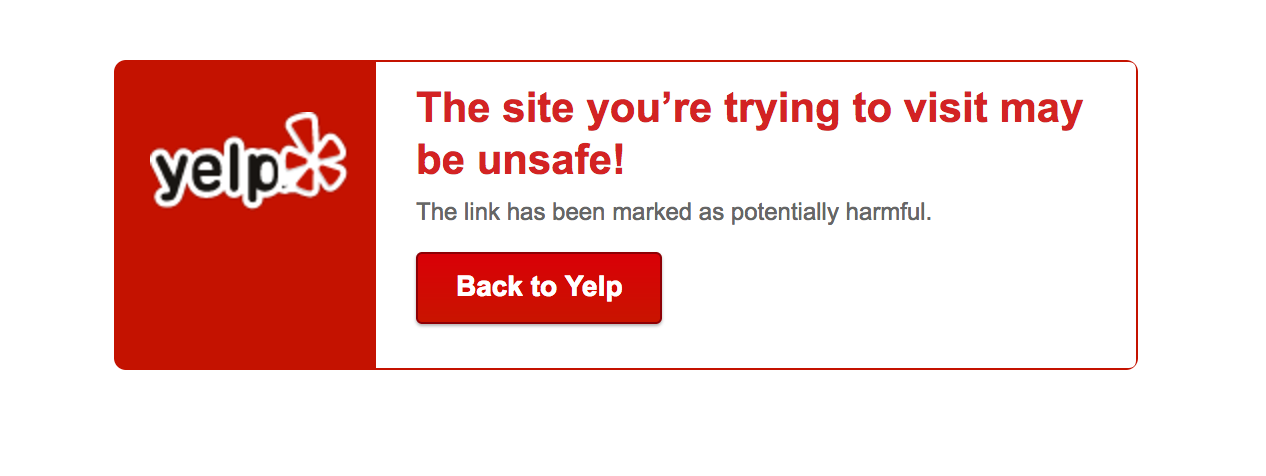 image of yelp not supporting http