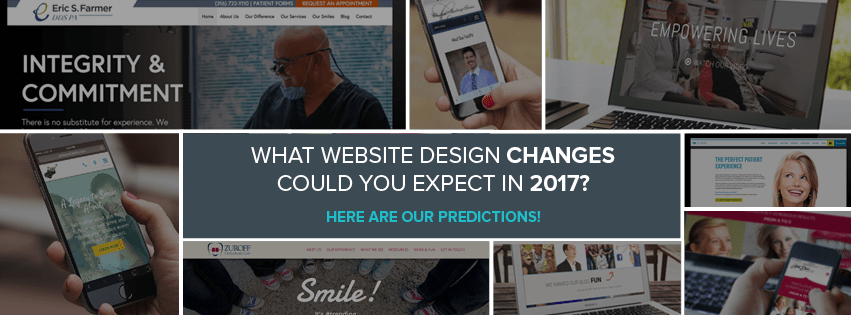 The different website design trends you should be excited for in 2017