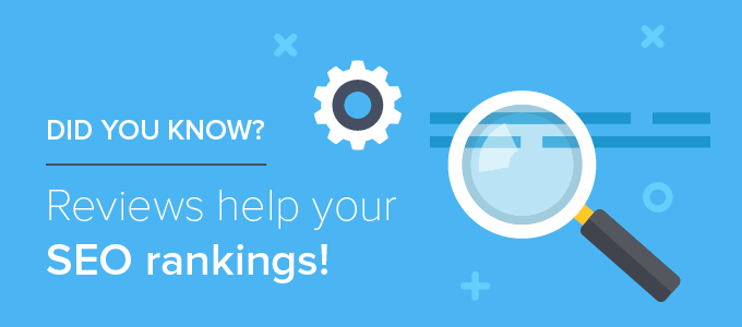 Reviews can boost your ranking when they are the right quality, quantity, and timed correctly.