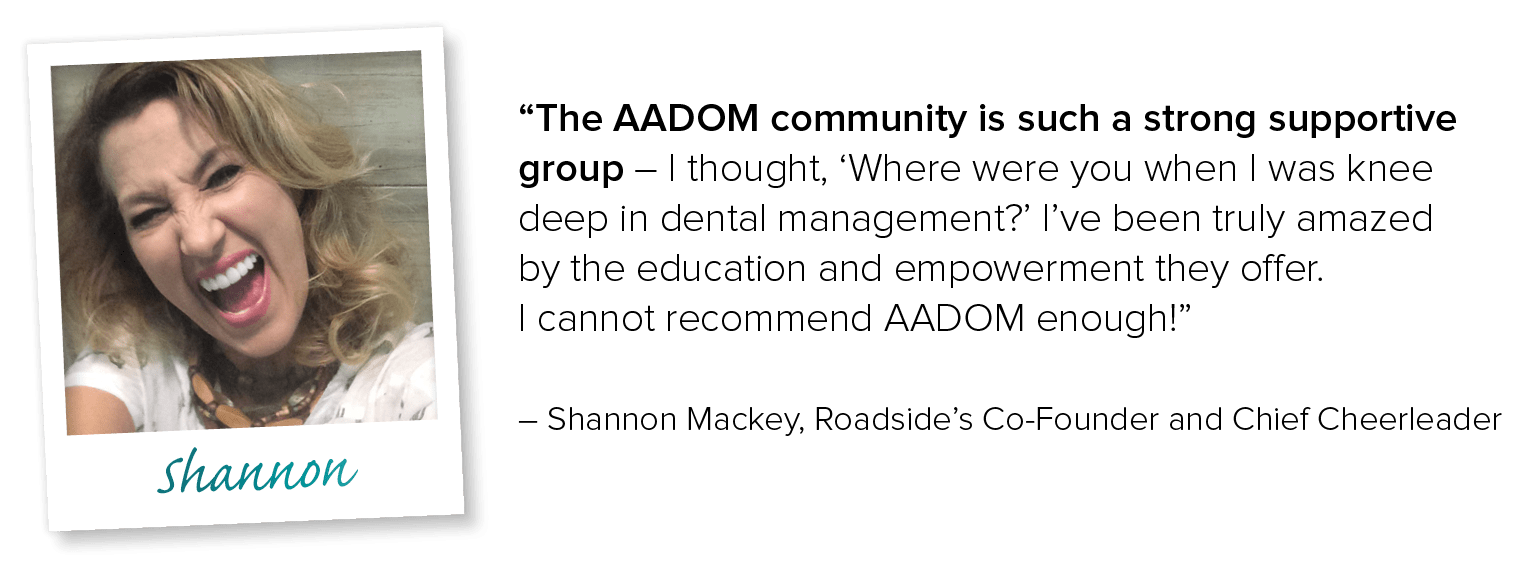 AADOM offers resources to run a successful dental practice