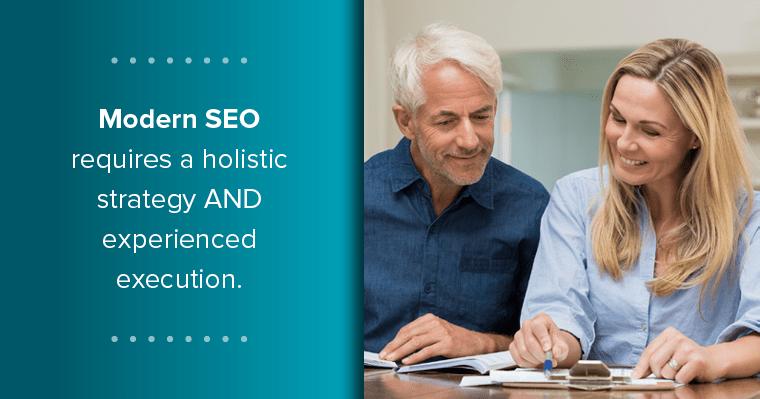 When choosing a website company, consider a holistic approach.