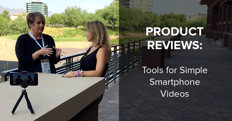 Read our review of this tripod for DIY smartphone video.
