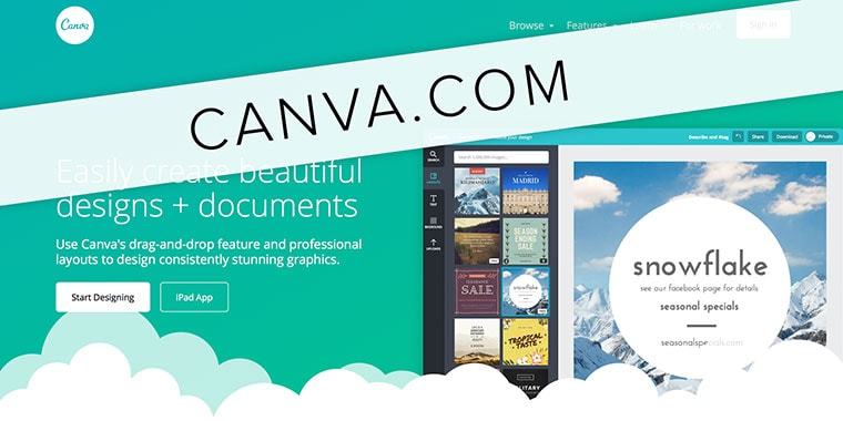 Canva is a free, easy-to-use tool to edit and create your own images