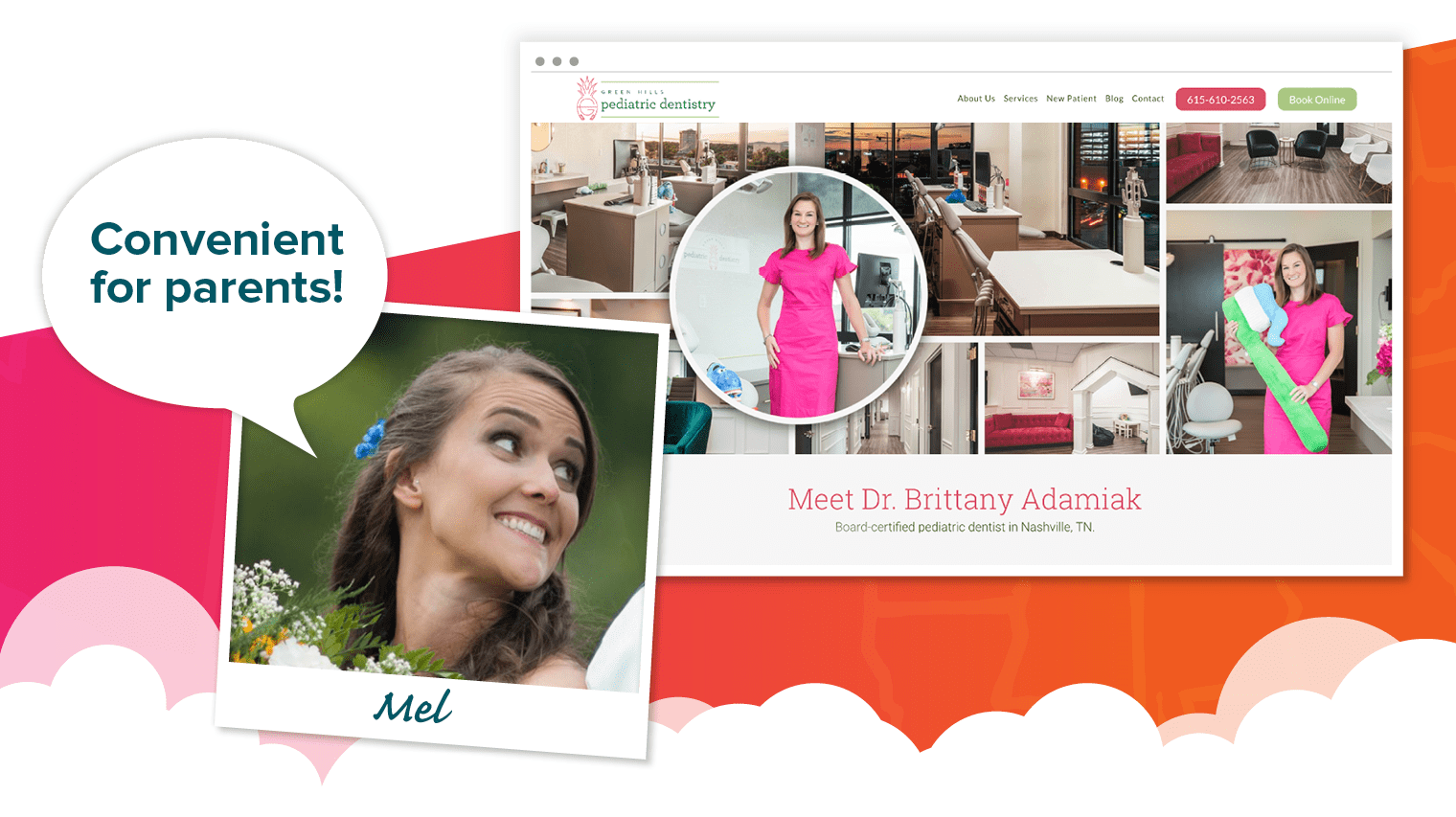 Mel's choice - Green Hills Pediatric Dentistry