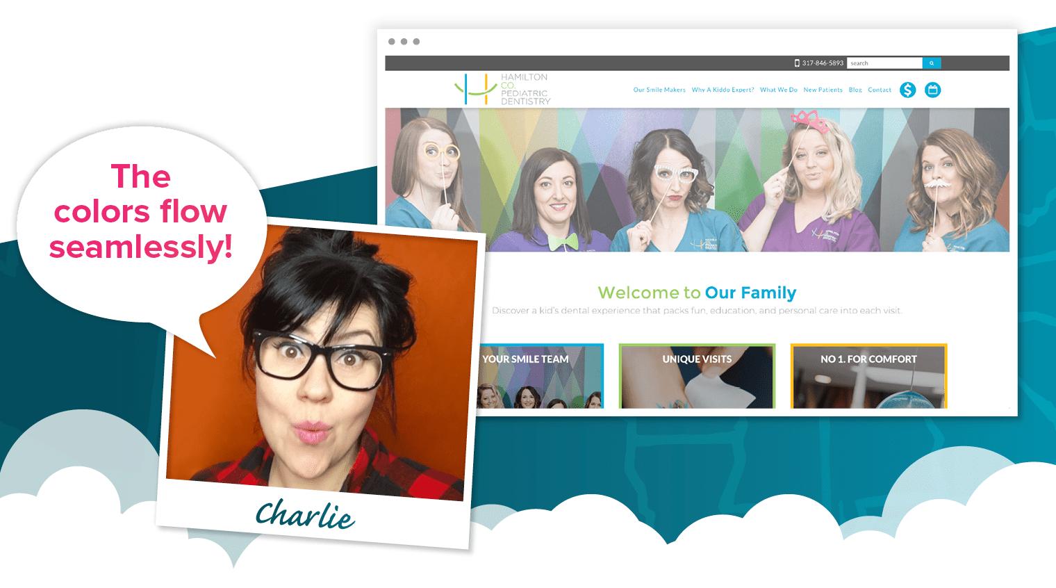 Charlie's pick for one of the best dental websites