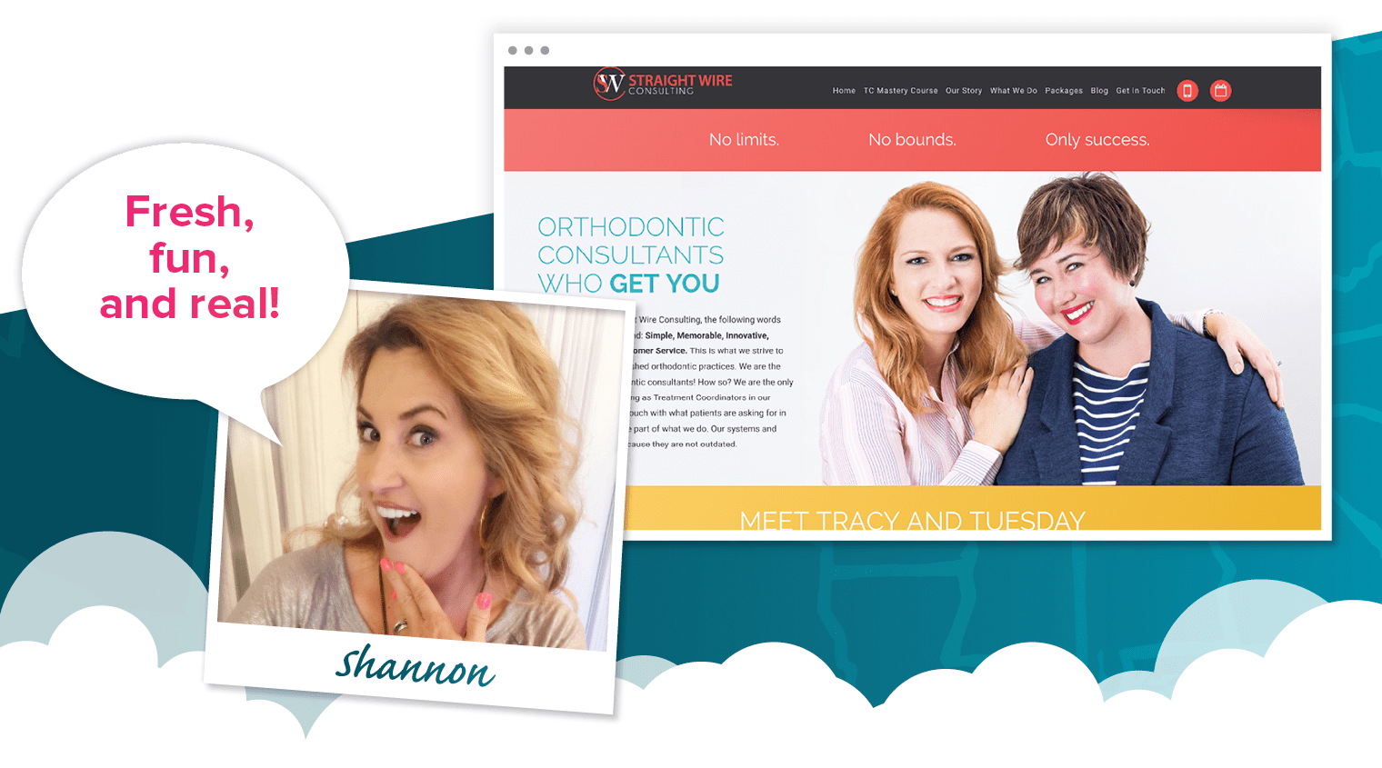 Shannon's choice for best dental website of 2018 - Straightwire Consulting
