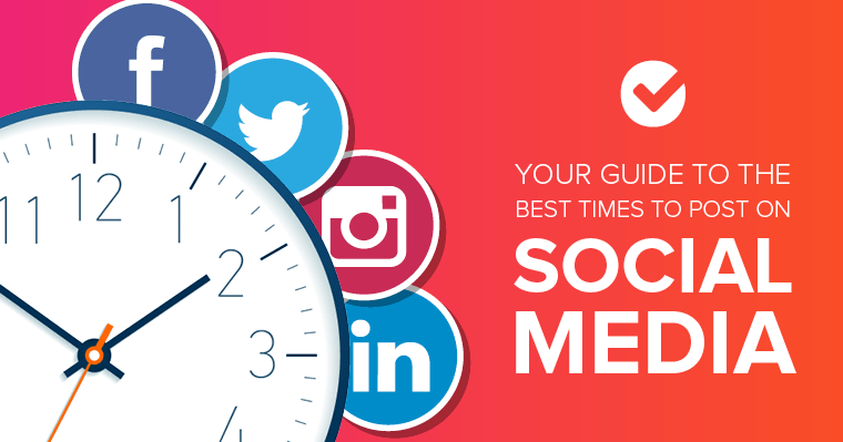 Your guide to the best times to post on social media