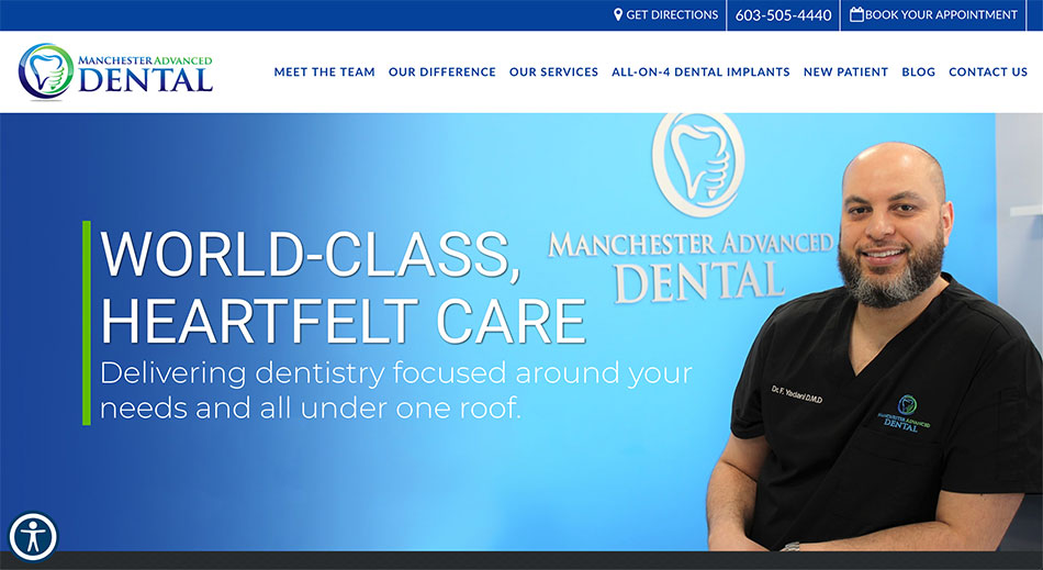 Manchester Advanced Dental's Case Study
