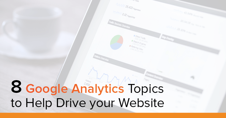 Laptop helping understand Google Analytics