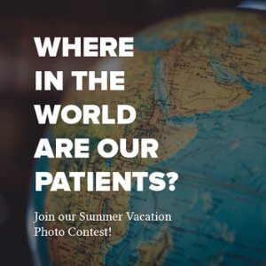 Where in the world are our patients? Join our summer vacation photo contest.