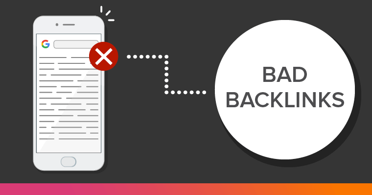 Low quality backlinks can kill your websites ranking potential