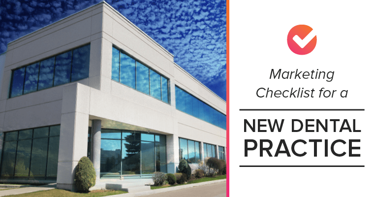 Marketing checklist for a new dental practice
