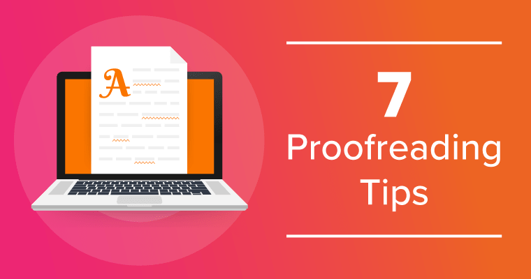 7 proofreading tips