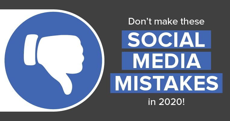 Don't make these social media mistakes in 2020 with Facebook's thumbs down