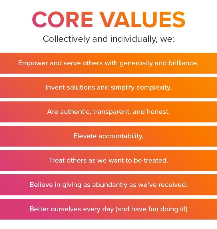 Roadside's core values