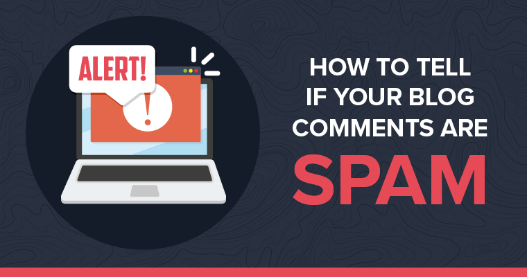 How To Tell If Your Blog Comments Are Spam