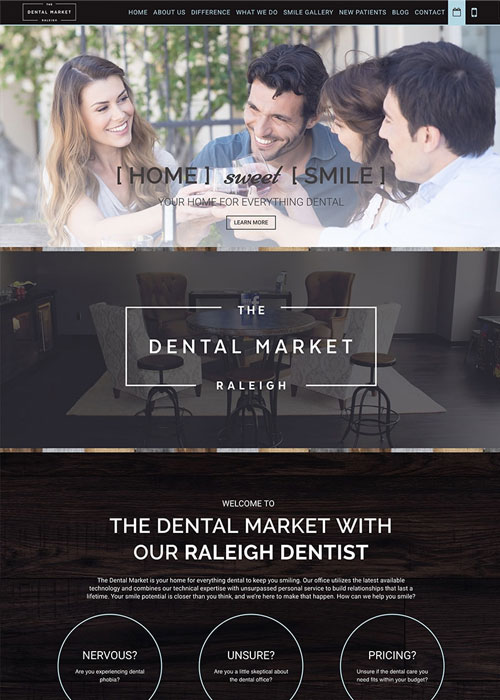 After Roadside created the new responsive website for The Dental Marketing