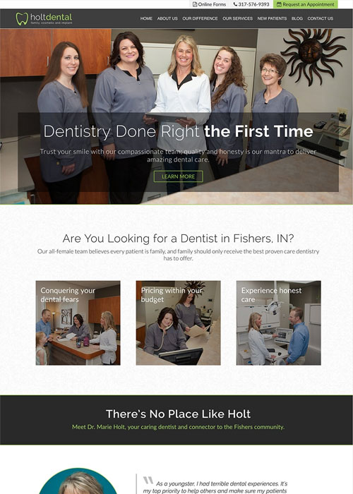 after new responsive holt dental
