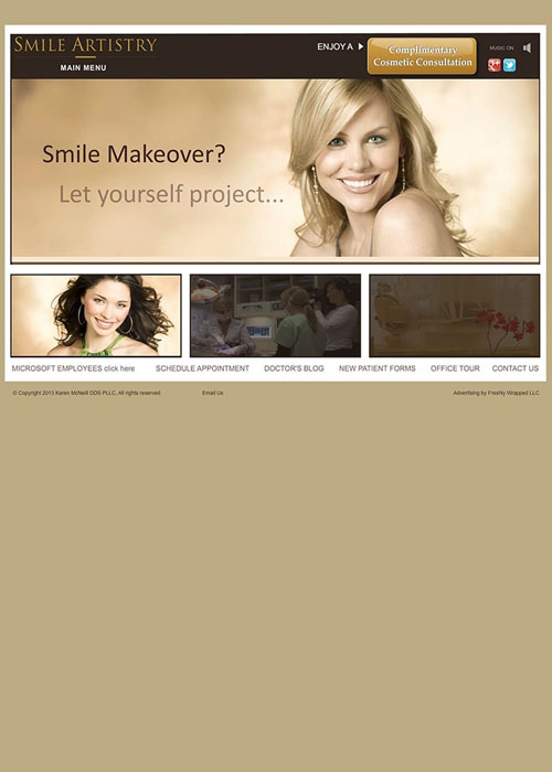 before new responsive smile artistry