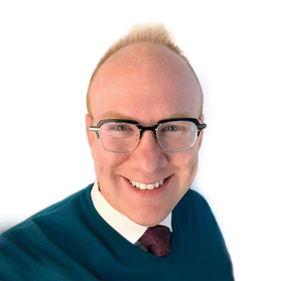 Headshot of Grant Hamblen, Roadside's Marketing Mission Coordinator