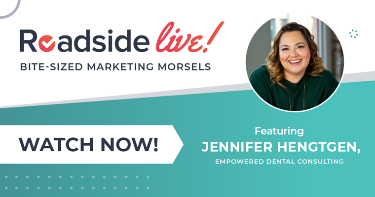 Roadside Live with Jennifer from Empowered Dental Consulting