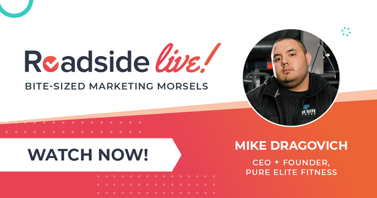 Roadside Live with Guest Mike Dragovich of Pure Elite Fitness