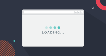 Web browser slowly loading in a webpage