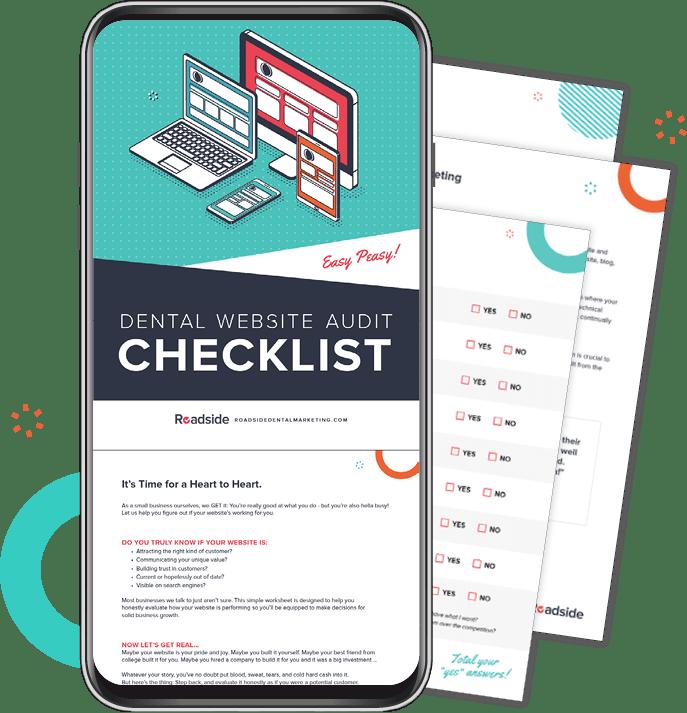 Dental Website Audit Checklist Cover Preview