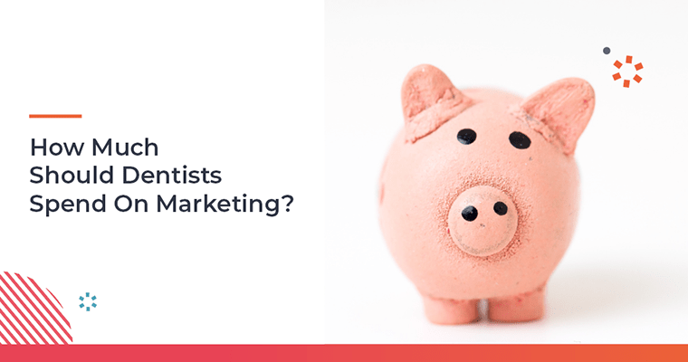 How much should dentists spend on marketing?