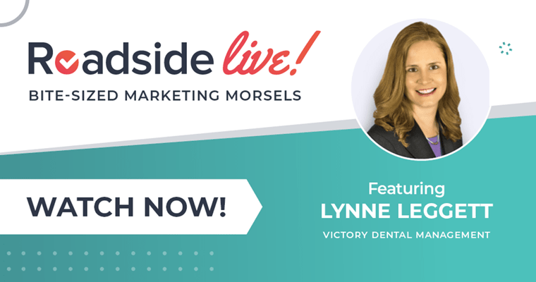 Roadside Live with Guest Lynne Leggett of Victory Dental Management