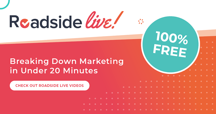 Roadside Live: Breaking down marketing in under 20 minutes