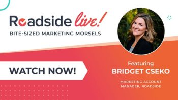Roadside Live with Bridget about outsourcing