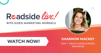 Roadside Live with Shannon Mackey: Marketing with Love