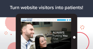Turn website visitors into patients!
