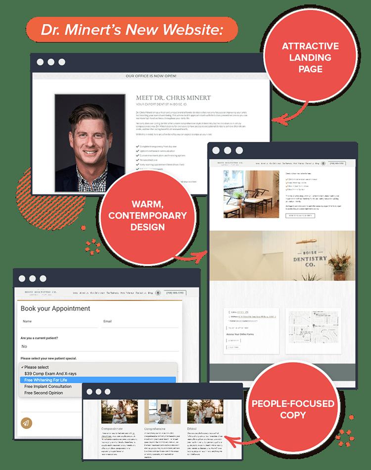 Boise Dentistry Co's new website